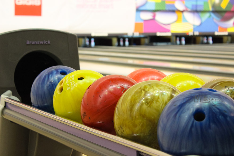 Avid bowlers pep up Trinity's bowling event